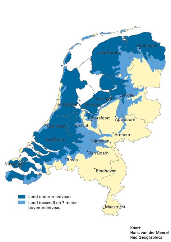 Nederland_overstromingsgevaar